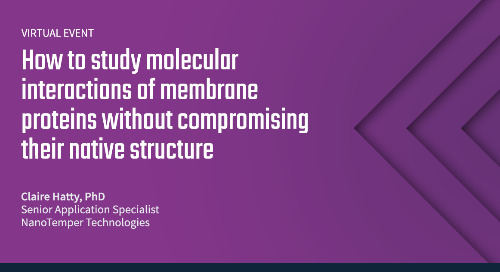 How to study molecular interactions of membrane proteins without compromising their native structure