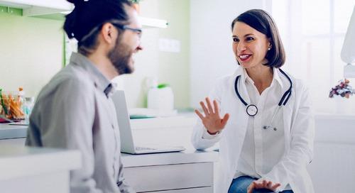 和病人谈话的方式很难