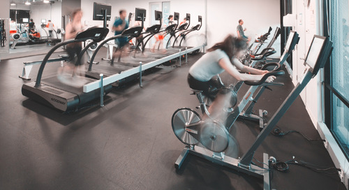 Drawing employees into an underutilized corporate fitness center