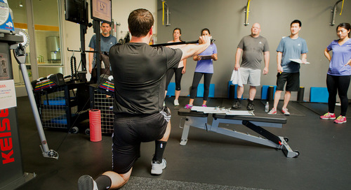 4 benefits of staffing your corporate fitness center