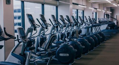 5个健身中心的健身中心