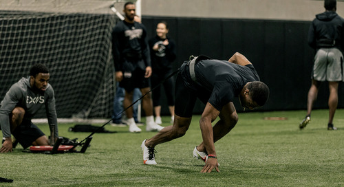 Recovery and routine have been essential to Jeff Okudah's combine prep