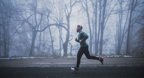 Brrr! Stay warm and safe on your winter run with these tips