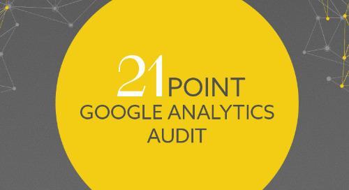 21 Point Google Analytics Audit