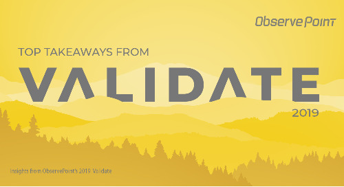 Top Takeaways from Validate 2019