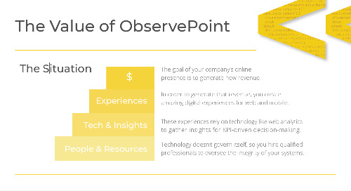 The Value of ObservePoint