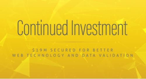 Our Investors Love Data Governance, $19M Worth
