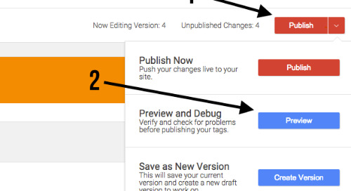 How to Verify Tag Changes with Google Tag Manager in Preview Mode