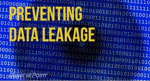 Prevent Data Leakage