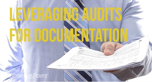 Leveraging Audits for Documentation