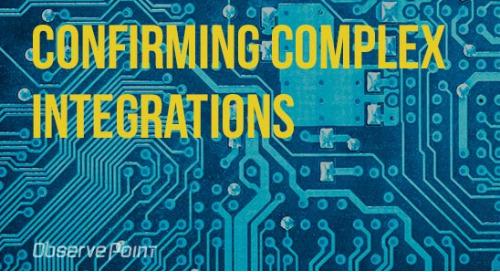 Confirming Complex Integrations