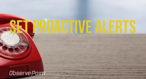 Set Proactive Alerts
