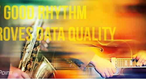 How good rhythm improves data quality