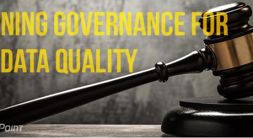 Defining Governance for Data Quality