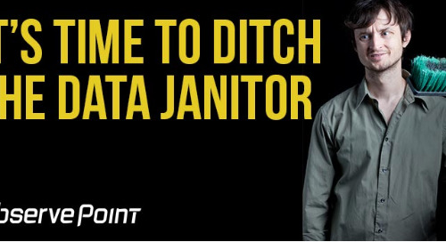 It's Time to Ditch the Data Janitor