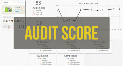 Audit Score: Tracking Your Progress Over Time