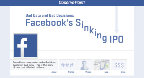 Bad Data and Bad Decisions: Facebook's Sinking IPO