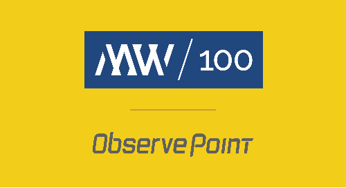 ObservePoint Makes MWCN Utah 100 for 5th Year