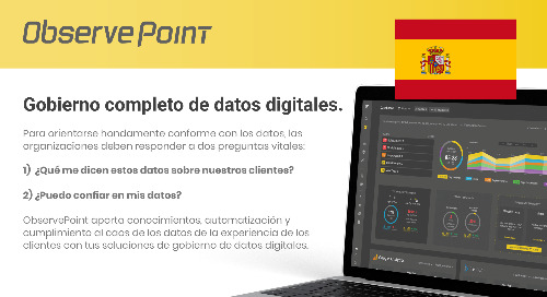 ObservePoint Overview (Spanish)