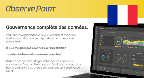 ObservePoint Overview (French)