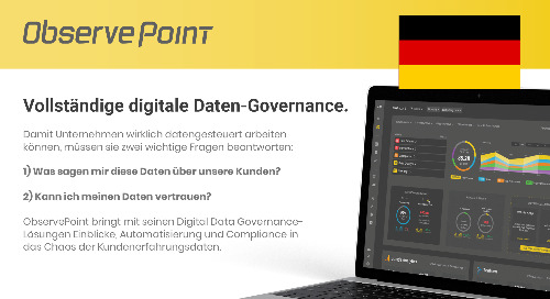 ObservePoint Overview (German)