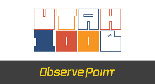 ObservePoint Makes 2021 MWCN Utah 100 for 6th Year
