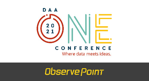ObservePoint to Sponsor the 2021 Digital Analytics Association's OneConference