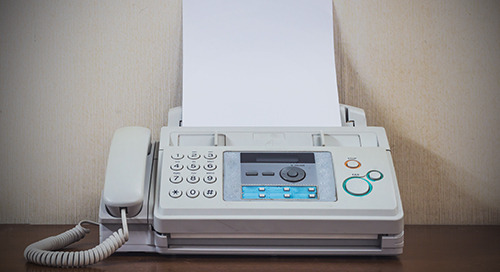 Ending the love affair with the fax machine