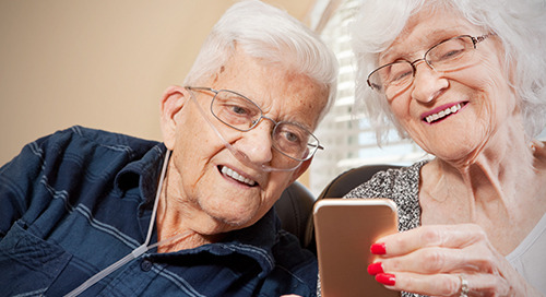 Remote monitoring technology helps seniors breathe better at home