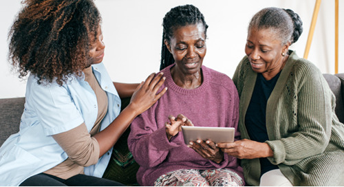 Home care requires heavy lifting―here's how digital health technologies can ease the burden