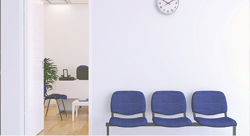 Back to an empty office: a physician's COVID-19 experience