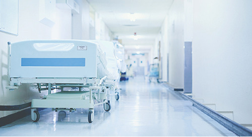 An eerily quiet hospital waits: a physician's COVID-19 experience