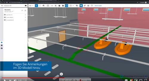 Die Web-Version von Trimble Connect wurde mit einem neuen 2D-Viewer aktualisiert