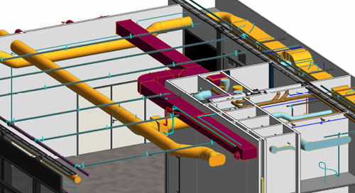 Unica: sprinklerinstallaties in BIM