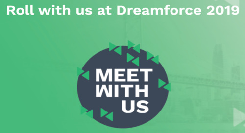 Dreamforce 2019: MEET WITH US