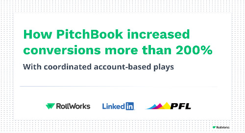 How PitchBook increased conversions more than 200%