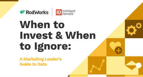 When to Invest and When to Ignore: The B2B Marketing Leader's Guide to Data