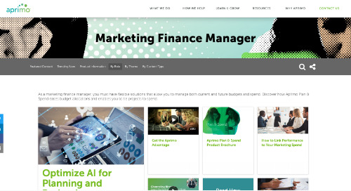 Marketing Finance Manager