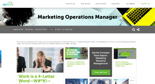 Marketing Operations Manager