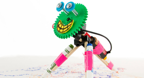How to build a Wiggle Bot to teach engineering and design