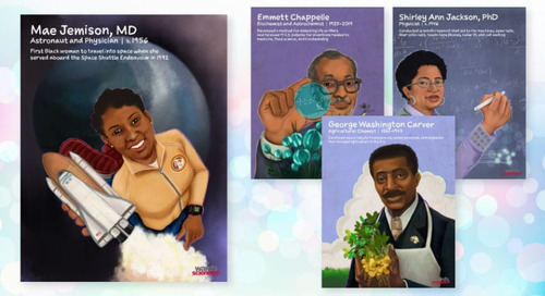 Celebrate Black History Month and download 4 free printable science posters