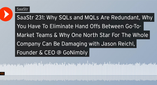 When Harry Met Jason: Our CEO Does the SaaStr Podcast