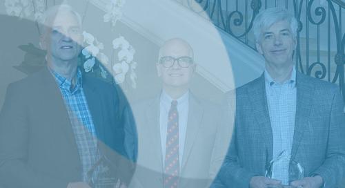 CRF Bracket's David Daniel and Gary Sachs - Recipients of 2019 ISCDD Scientific Leadership Awards