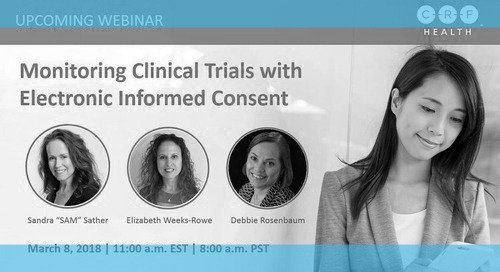 Monitoring Considerations for Clinical Trials with eConsent