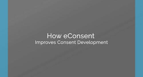 How eConsent Improves Consent Development