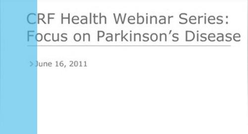 eCOA: Focus on Parkinson's Disease