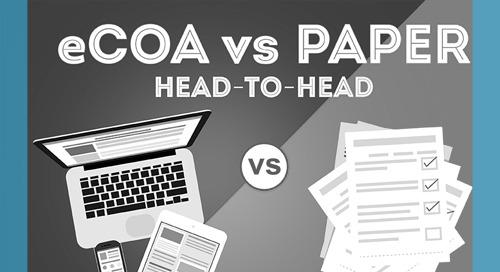 eCOA vs Paper: Head-to-Head