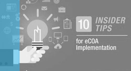 10 Insider Tips for eCOA Implementation