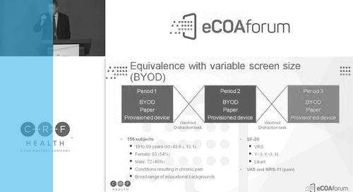 eCOA and BYOD - Recent Research and Implications