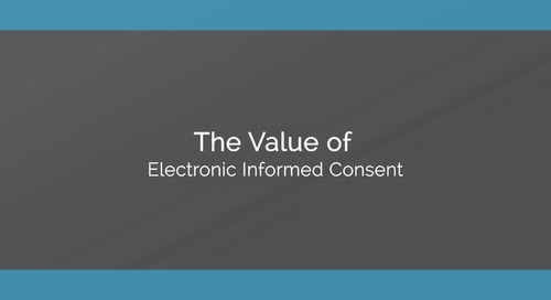 The Value of Electronic Informed Consent